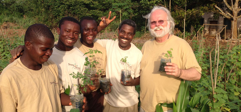 Strong Harvest Volunteers around the World