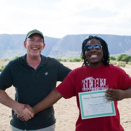 Peer Educator, Michael in Tanzania