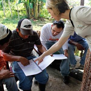 U.S. Peer Educator, Megan in Nicaragua
