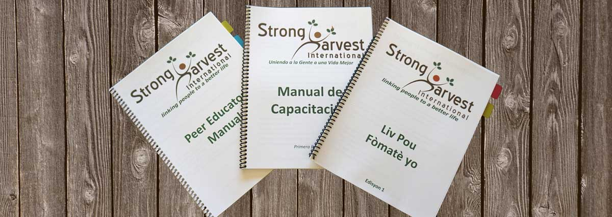 Strong Harvest Peer Educator Manuals