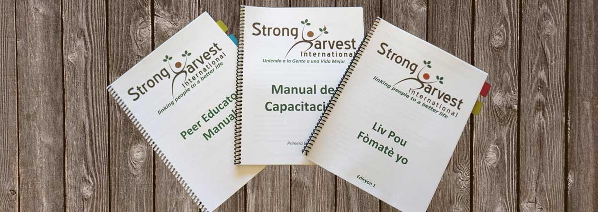Strong Harvest Peer Educator Manuals