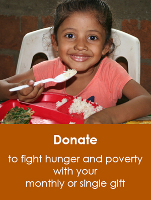 Donate to fight hunger and poverty