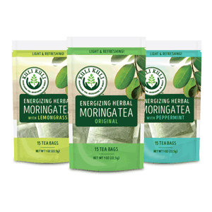Kuli Kuli Energizing Moringa Herbal Tea